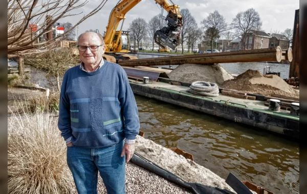 Mooi artikel in AD over opknappen oevers Oude Rijn