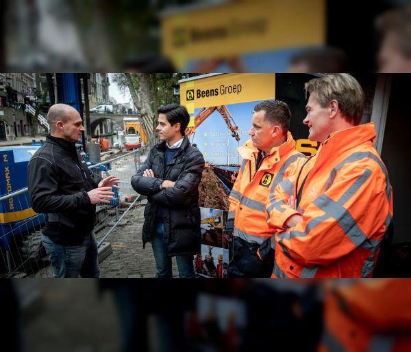Vernieuwing lage walmuren Oudegracht Utrecht